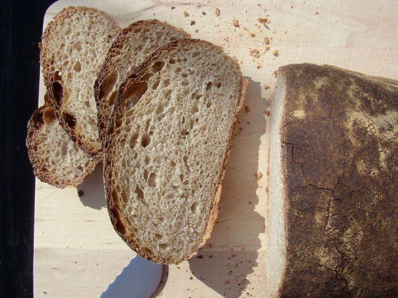 Basler Brot mit T110 gebacken