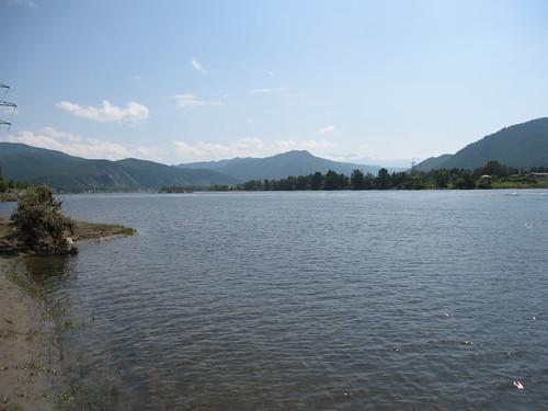 Yenisei scenery