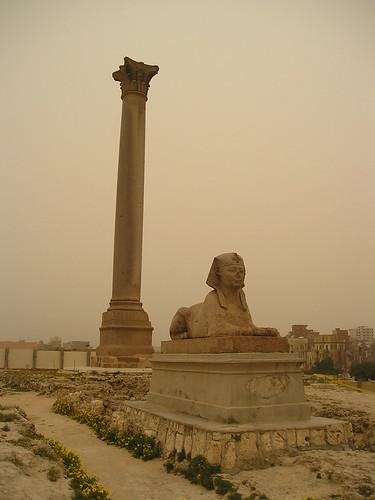 Alexandria Pompey's Pillar & Serapeum por obrien26382.