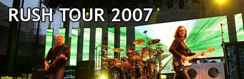 rush tour 2007