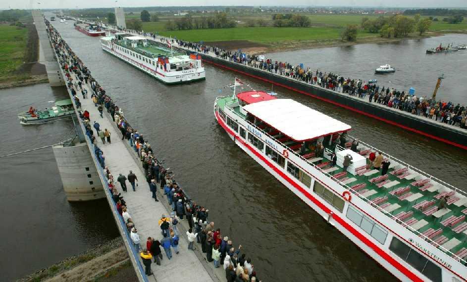 Europe's Largest Water Bridge