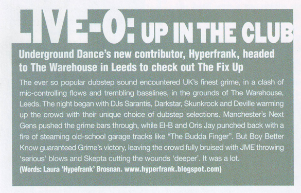 Leeds, The Fix Up