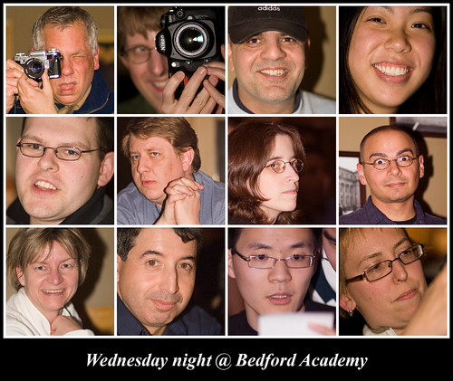 Wednesday night at Bedford Academy