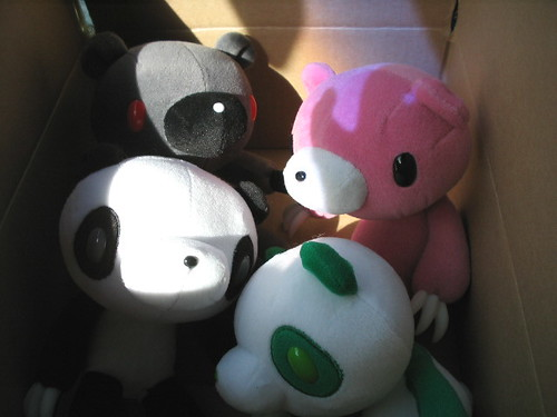gloomy bears in a box by dreamijo.