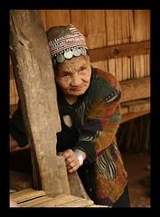 the nice old Akha lady (janchan) Tags: portrait people thailand asia village retrato documentary tribal ritratto reportage chiangrai akha whitetaraproductions