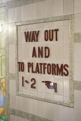 Way Out and to Platforms 1-2 (rbrwr) Tags: uk england station digital geotagged kitlens railwaystation devon exeter exeterstdavids 400d geo:lat=50728931 geo:lon=354352