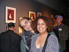 With Josh Kornbluth