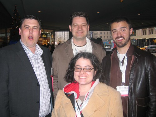 David Naylor, Todd Freisen, Dax Herrera, Tamar Weinberg - SES NY 2007