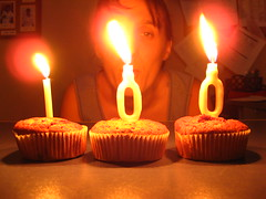 Celebrating day 100! (Fe em Brasil) Tags: party selfportrait me cake candle autoportrait faith celebration explore day100 spinks 365days interestingness213 views400 madeit i500 canonpowershota550