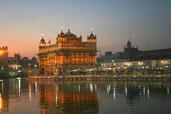 Golden Temple early in the morning (Manny Pabla) Tags: trip morning travel winter vacation people india heritage rural sunrise canon landscape rebel asia village faith religion culture belief landmark sikh tradition punjab amritsar sikhism goldentemple punjabi guru panjabi beliefs northindia pind harmandirsahib harimandirsahib darbarsahib panjab saini canoneos400d canoneosdigitalrebelxti doaba garhshankar poolofnectar nawashahr nawanshahar nawashahar thetempleofgod