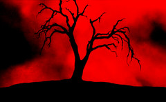 RACE WITH THE DEVIL (Dioboss) Tags: red tree dark place object 7 seven epic crisis darknet racewiththedevil