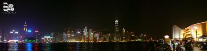 香港島夜景
