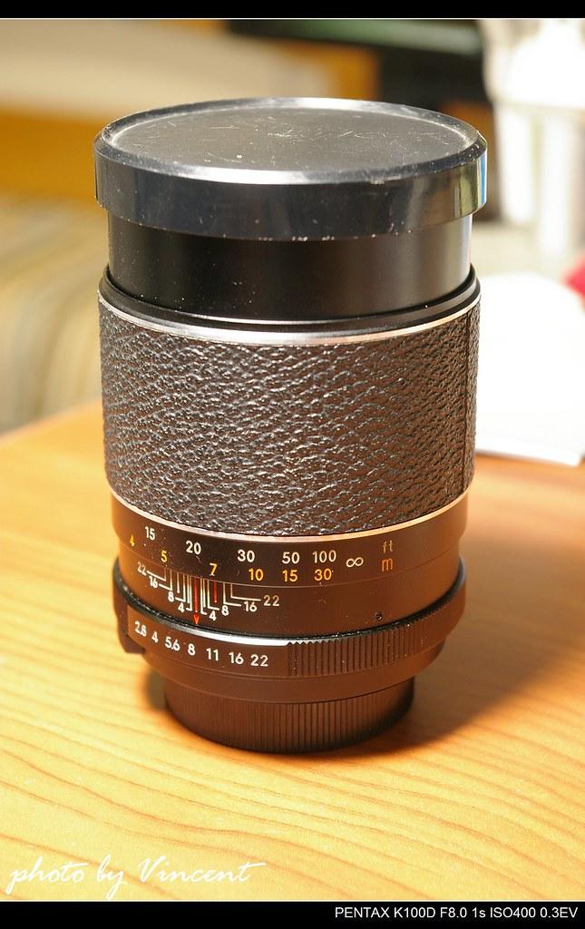 無聊測測老鏡頭 AUTO CHINON 135mm/F 2.8