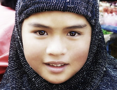 muslim girl (jobarracuda) Tags: people girl beauty face kids youth lumix eyes philippines hijab baguio pinay filipina fz50 prettyface blueribbonwinner panasoniclumix muslimgirl filipinoyouth pinoycentric superaplus flickrbest jobarracuda goldenphotographer superhearts flickristasindios baggirl tribehorizon
