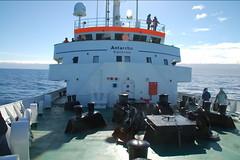 Barco antartida