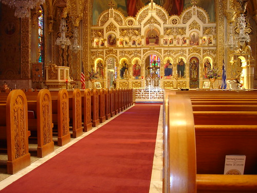 St. Sophia's Cathedral (Greek Orthodox Church) - The Interior, Los Angeles