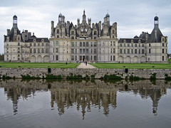 Symmetrical (Jason's Travel Photography) Tags: france castles water chambord loirevalley chteau take5 supershot mywinners goldenphotographer jasonstravel