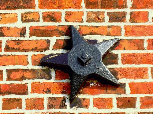 Redhook Iron Star on Brickwall