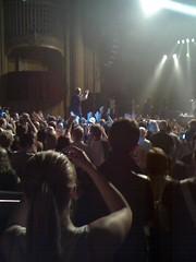 Ricky Wilson in crowd
