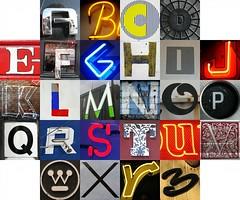 Square format letters