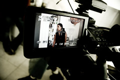 Position Test (Franca Alejandra) Tags: tv talent f director directing behindthescenes directora tvspot mimilazo