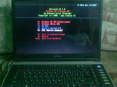 RiddleR Adv CD 1.5 on Toshiba Laptop
