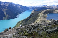 Besseggen Ridge (Mike Dole) Tags: norway jotunheimen besseggenridge lakegjende