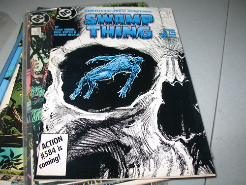 "Alan Moore's ""My Blue Heaven"" from Swamp Thing"