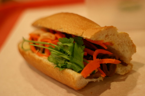bahn mi from Paris Bakery