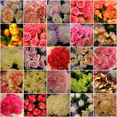 0705 Mother's Day flowers mosaic
