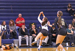 IMG_8302 (SJH Foto) Tags: girls volleyball high school york delone catholic team teen teenager bump burst mode