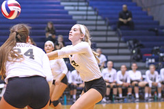 IMG_8325 (SJH Foto) Tags: girls volleyball high school york delone catholic team teen teenager bump burst mode