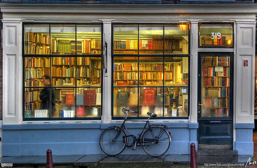 Amsterdam bookstore. Photo by MorBCN on Flickr