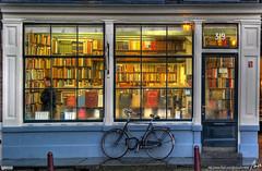 llibreria - bookstore - Amsterdam - HDR - by MorBCN