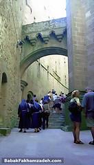 Inside Mont Saint-Michel