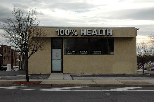 100% health web