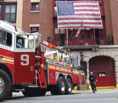 Great Jones Street firehouse.