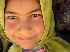 I'm Iranian, a Nomadic Girl (HORIZON) Tags: portrait people girl smile face smiling portraits persian faces iran horizon hijab persia portraiture nomad iranian theface nomadic peoplpix