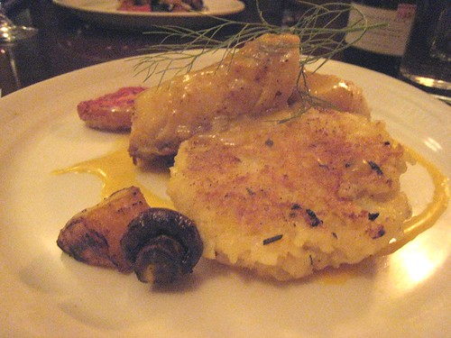 Almond Crusted Black Cod