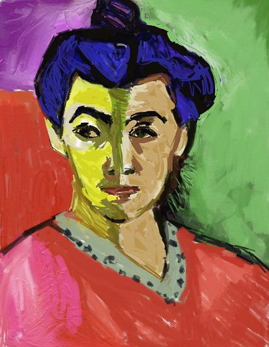 mrs matisse - copy a master