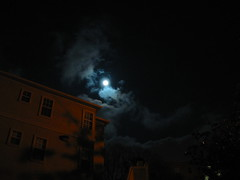 moon light (gamany) Tags: building night clouds canon moonlight skygazing 9158