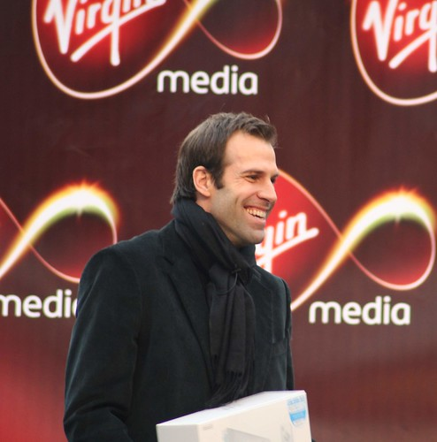 Greg Rusedski pops by