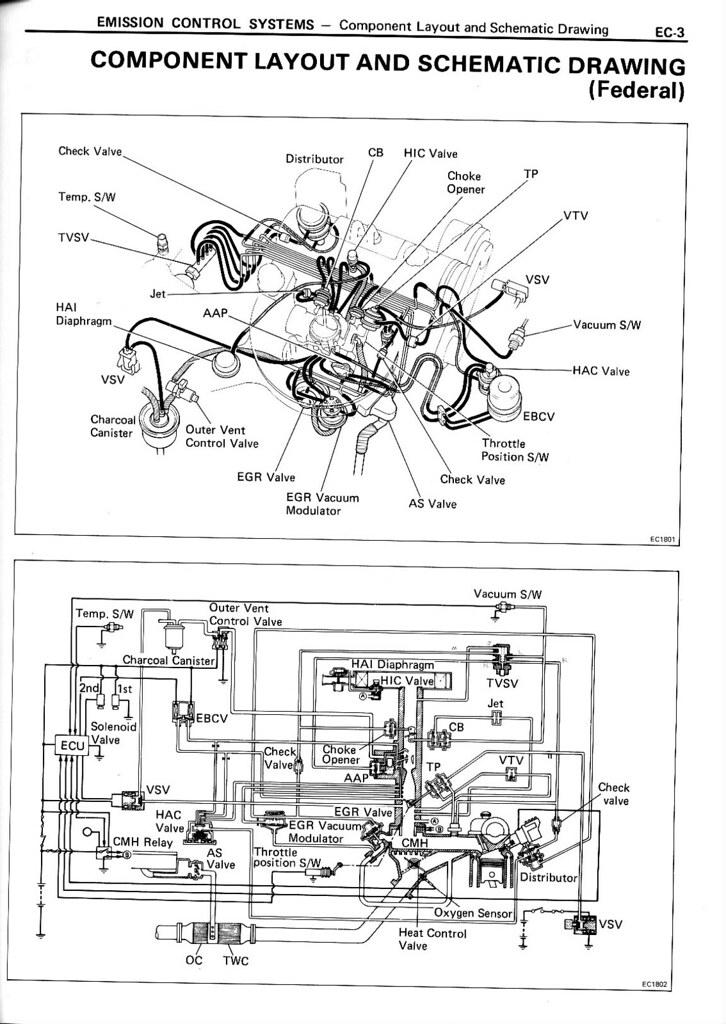 Toyota 4ac Vacuum Diagram