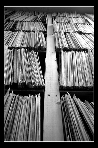 Record Shelves