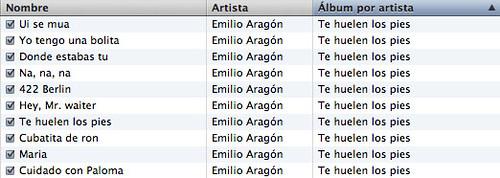 El infame disco de Emilio Aragón