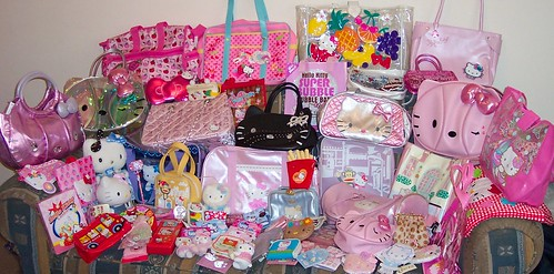 My Hello Kitty Collection by toriloveskitty.