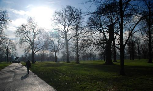 Paseo matinal por Kensington Gardens