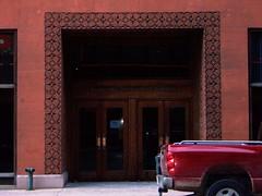 St Louis, MO Wainwright Building entrance (army.arch) Tags: skyscraper nhl terracotta adler wainwright sullivan stlouismissouri curtainwall nationalhistoriclandmark nationalregister nrhp