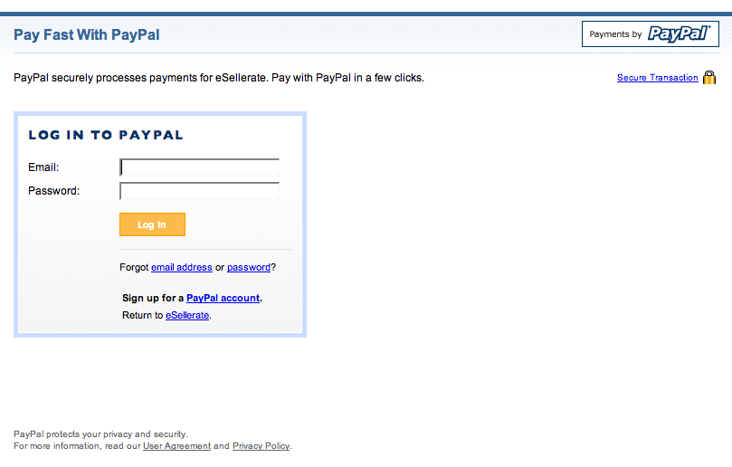 PayPal Redesign?