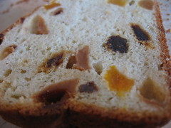 Cardamom Flavored Fruit Bread - Detail